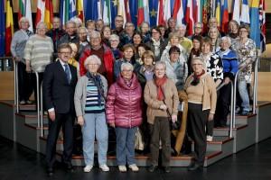 Visitors group in Strasbourg Thomas MANN